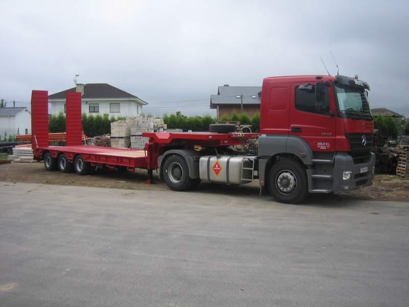 Camion  Axor 1843LS - Gondola