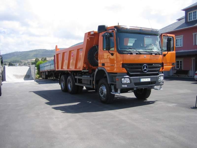 Camion Dumper 6x6 Obra 33.41AK