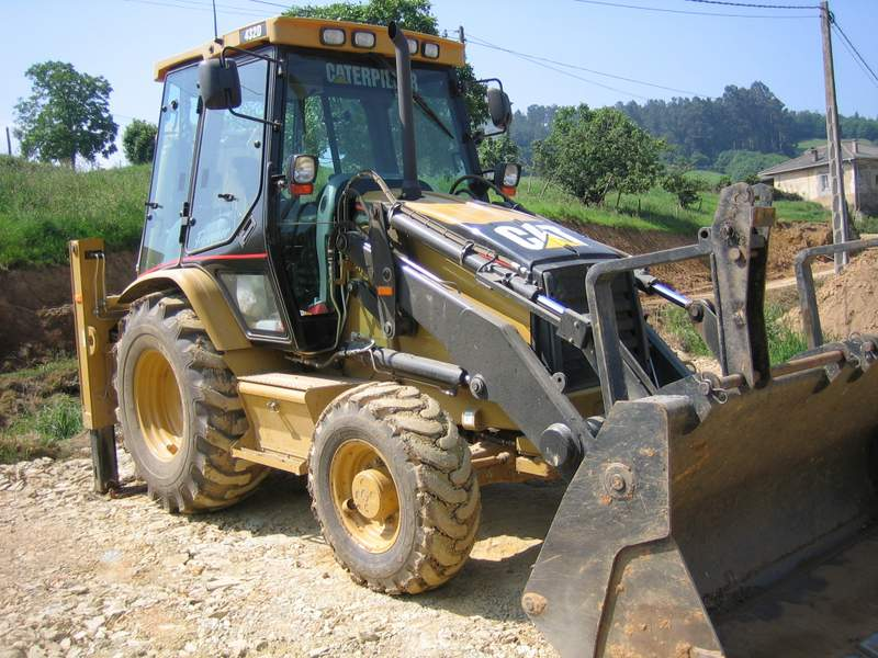 Pala Mixta Caterpillar 432D I