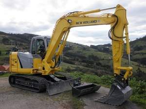 Miniexcavadora New Holland E80-2